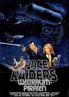 Space Raiders - German Movie Poster (xs thumbnail)