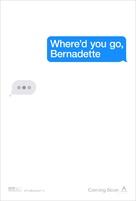 Where'd You Go, Bernadette - Movie Poster (xs thumbnail)