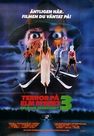 A Nightmare On Elm Street 3: Dream Warriors - Swedish Movie Poster (xs thumbnail)