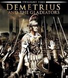 Demetrius and the Gladiators - Italian Blu-Ray cover (xs thumbnail)