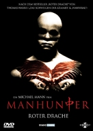 Manhunter - German DVD cover (xs thumbnail)