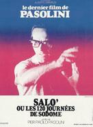 Salò o le 120 giornate di Sodoma - French Theatrical poster (xs thumbnail)