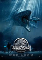 Jurassic World - Estonian Movie Poster (xs thumbnail)