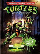 Teenage Mutant Ninja Turtles II: The Secret of the Ooze - DVD cover (xs thumbnail)