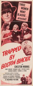 Trapped by Boston Blackie - Movie Poster (xs thumbnail)