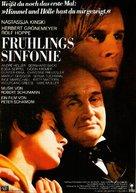 Frühlingssinfonie - German Movie Poster (xs thumbnail)