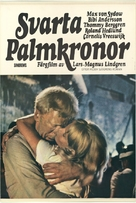 Svarta palmkronor - Swedish Movie Poster (xs thumbnail)