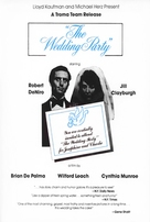 The Wedding Party - Movie Poster (xs thumbnail)