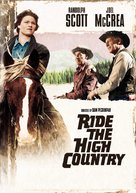 Ride the High Country - DVD cover (xs thumbnail)