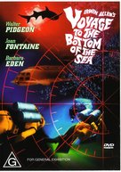 Voyage to the Bottom of the Sea - Australian DVD movie cover (xs thumbnail)