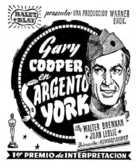 Sergeant York - Spanish poster (xs thumbnail)