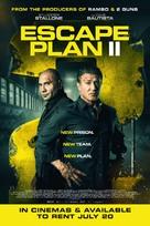 Escape Plan 2: Hades - British Movie Poster (xs thumbnail)