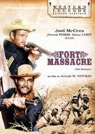 Fort Massacre - French Movie Cover (xs thumbnail)
