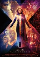X-Men: Dark Phoenix - German Movie Poster (xs thumbnail)