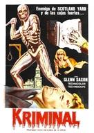 Kriminal - Argentinian Movie Poster (xs thumbnail)