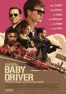 Baby Driver - Greek Movie Poster (xs thumbnail)