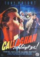 À toi de jouer, Callaghan - German Movie Poster (xs thumbnail)