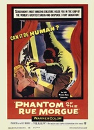 Phantom of the Rue Morgue - Re-release poster (xs thumbnail)