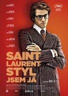 Saint Laurent - Czech Movie Poster (xs thumbnail)
