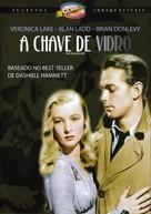 The Glass Key - Brazilian DVD cover (xs thumbnail)