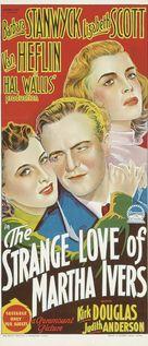 The Strange Love of Martha Ivers - Australian Movie Poster (xs thumbnail)