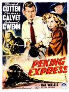 Peking Express - Belgian Movie Poster (xs thumbnail)