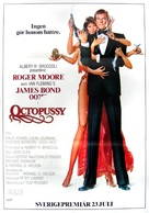 Octopussy - Swedish Movie Poster (xs thumbnail)