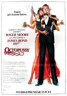 Octopussy - Swedish Movie Poster (xs thumbnail)