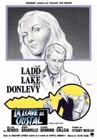 The Glass Key - Spanish Movie Poster (xs thumbnail)
