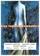 The Romantic Englishwoman - Spanish Movie Poster (xs thumbnail)