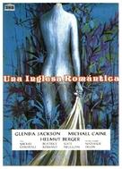 The Romantic Englishwoman - Spanish Movie Poster (xs thumbnail)