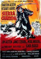 Major Dundee - Swedish Movie Poster (xs thumbnail)
