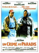 Un crime au paradis - French Movie Poster (xs thumbnail)