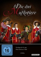 Les trois mousquetaires: Tome II - La vengeance de Milady - German Movie Cover (xs thumbnail)