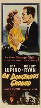 On Dangerous Ground - Movie Poster (xs thumbnail)