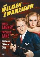 The Roaring Twenties - German DVD cover (xs thumbnail)