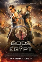 Gods of Egypt - British Movie Poster (xs thumbnail)