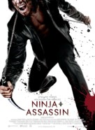 Ninja Assassin - Danish Movie Poster (xs thumbnail)