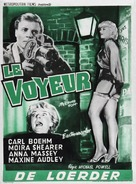 Peeping Tom - Belgian Movie Poster (xs thumbnail)