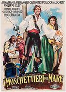 Moschettieri del mare, I - Italian Movie Poster (xs thumbnail)