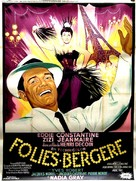 Folies-Bergère - French Movie Poster (xs thumbnail)