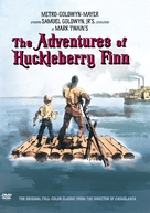 The Adventures of Huckleberry Finn - DVD cover (xs thumbnail)