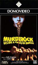 Murderock - uccide a passo di danza - Italian VHS cover (xs thumbnail)