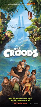 The Croods - Vietnamese Movie Poster (xs thumbnail)