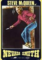 Nevada Smith - Italian VHS cover (xs thumbnail)