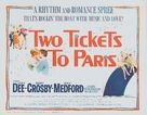 Two Tickets to Paris - Movie Poster (xs thumbnail)