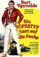 W.W. and the Dixie Dancekings - German Movie Poster (xs thumbnail)
