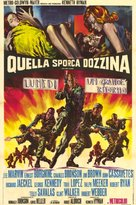 The Dirty Dozen - Italian Movie Poster (xs thumbnail)