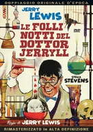 The Nutty Professor - Italian DVD movie cover (xs thumbnail)