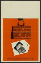 Advise & Consent - Theatrical poster (xs thumbnail)